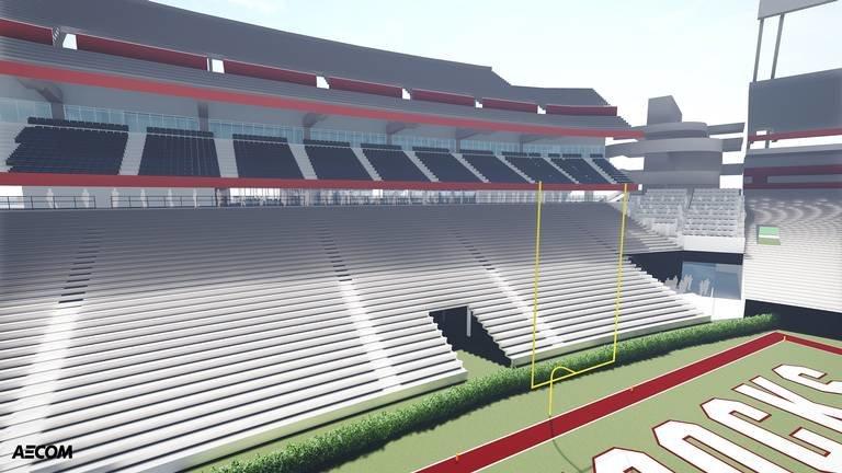 Plans for big renovations at Williams-Brice Stadium revealed - Sept. 19, 2018