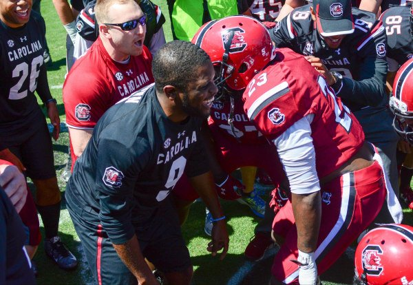 2016 Black And Garnet in Annual Spring Game