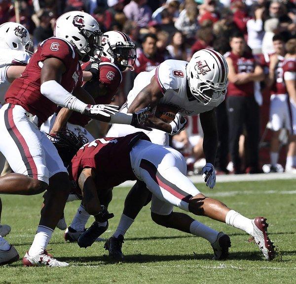 South Carolina vs UMASS Oct. 22, 201
