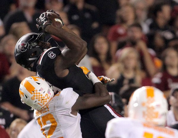 South Carolina vs Tennessee 2016