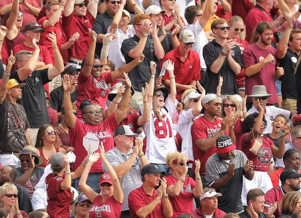 South carolina 15 Tennessee 9 on October 14, 2017