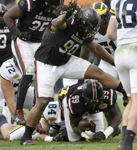 2018 Outback Bowl: South Carolina 26, Michigan 19
