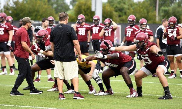 2018 Football Fall Practice