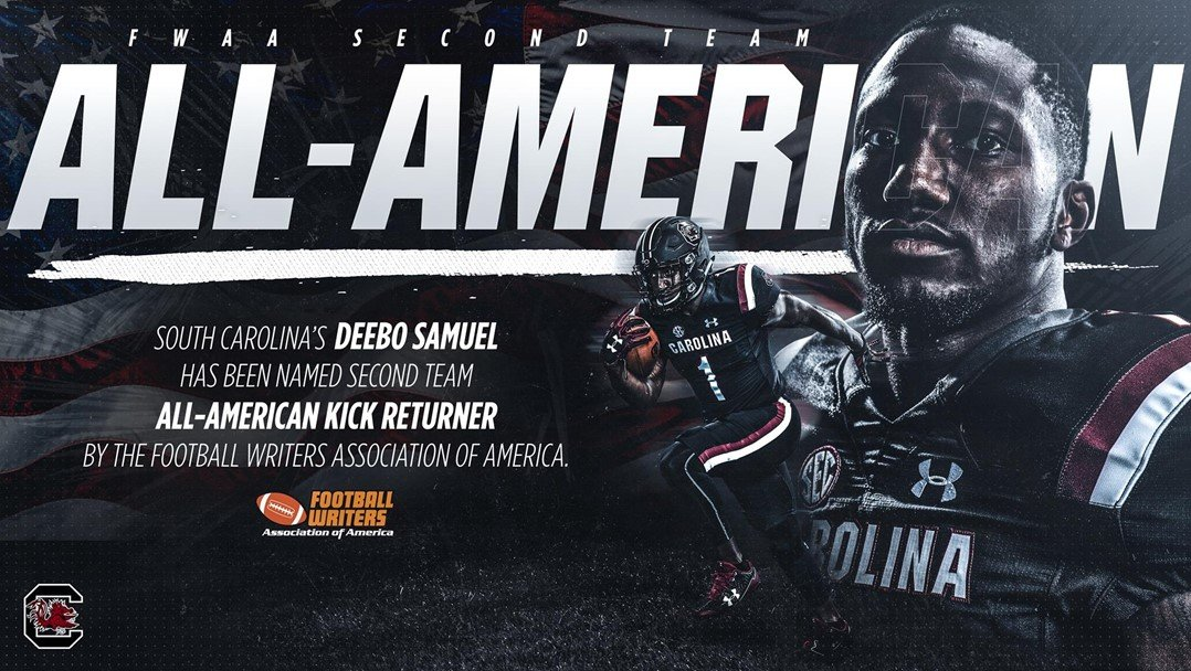 Two Gamecocks Earn All-America Honors - December 11, 2018 | GCF Staff Report