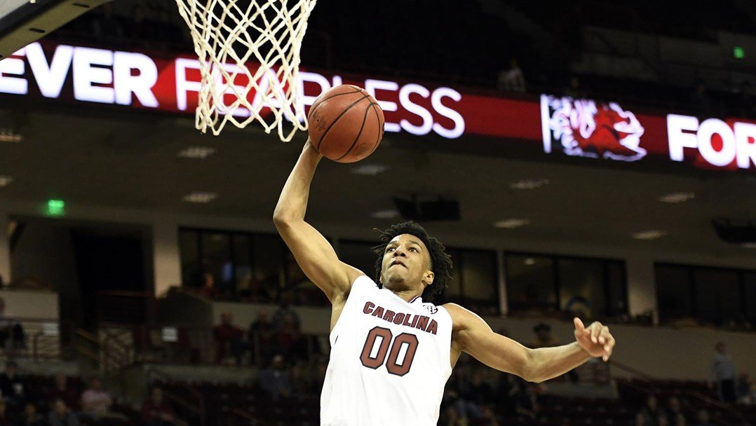 Lawson's 22 lift South Carolina to 97-46 win over Crusaders - December 31, 2018 | GCF Staff Report