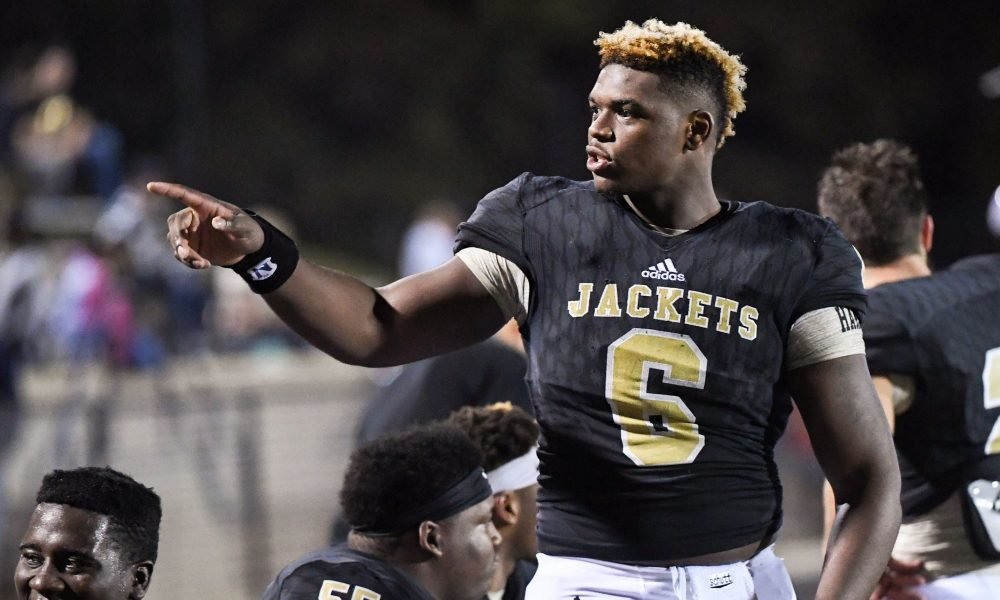 Gamecocks 5 star DL Zacch Pickens commit named Gatorade South Carolina Football Player of the Year - December 06, 2018   GCF Staff Report