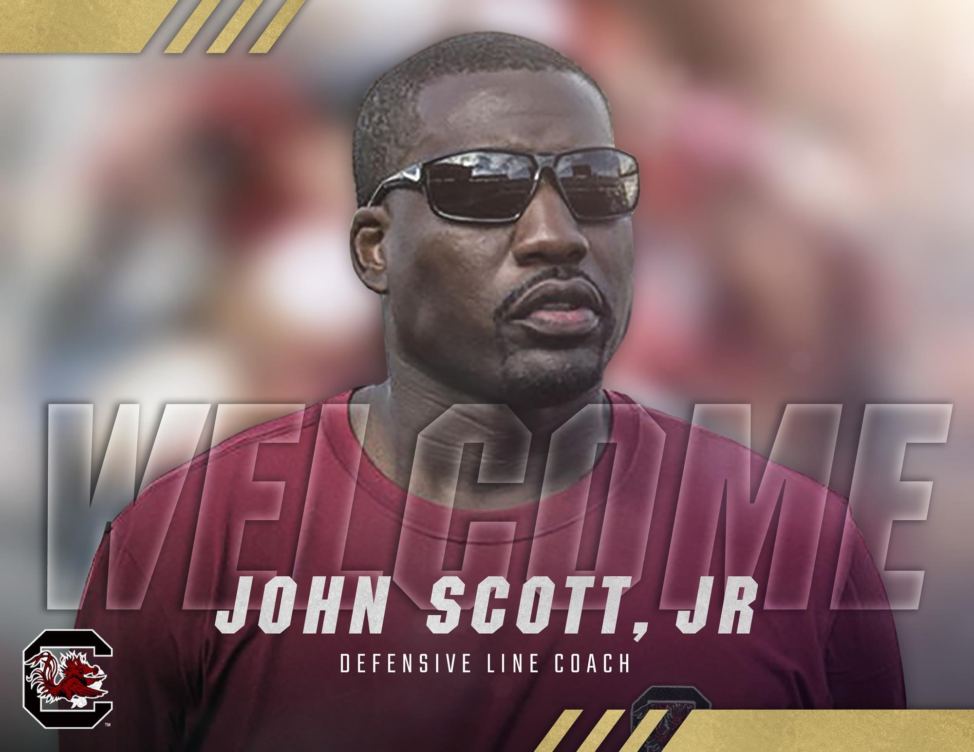 John Scott Jr. Named Defensive Line Coach - January 23, 2019 | GCF Staff Report