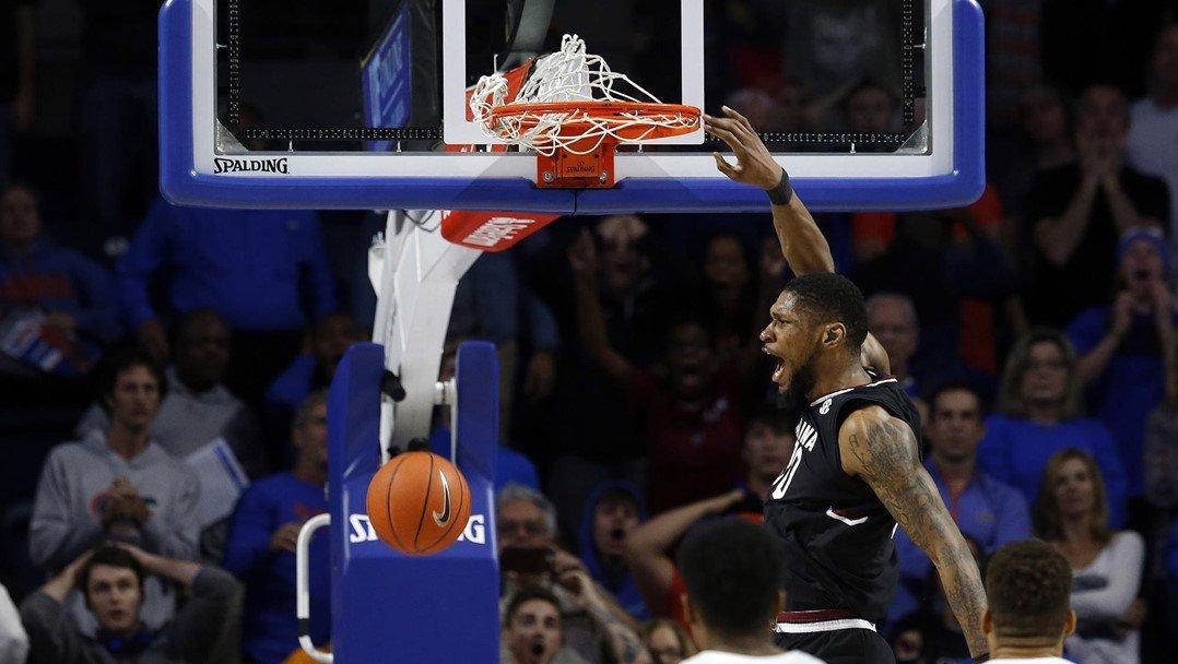 Silva's late dunk lifts South Carolina over Florida, 71-69 - January 06, 2019 | GCF Staff Report