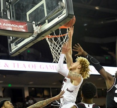 South Carolina Upends No. 14 Mississippi State, 87-82, in OT (2019)