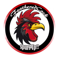 FeatheredCocks I Bleed Garnet  Club